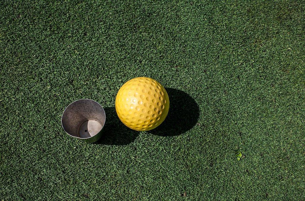 golf impression